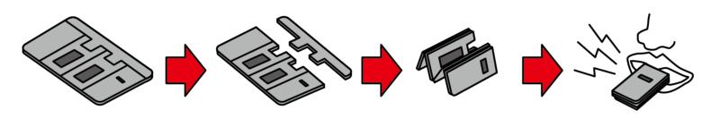 緊急用ホイッスルカードのサブ画像