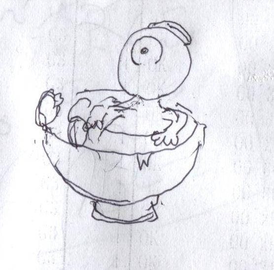 目玉のおやじのイラストを描いてみた オカモトラボ